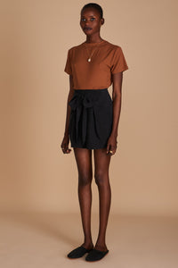 Sancia Anneli Shorts in Onyx Black