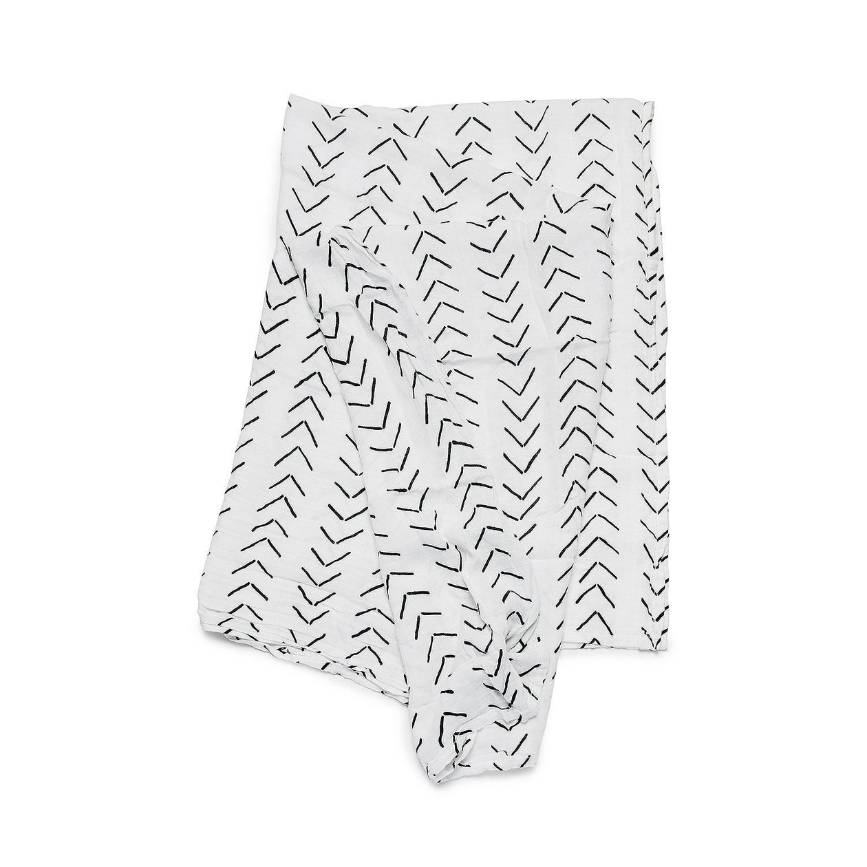 Muslin Swaddle - Arrows (Swaddle) by Loulou Lollipop