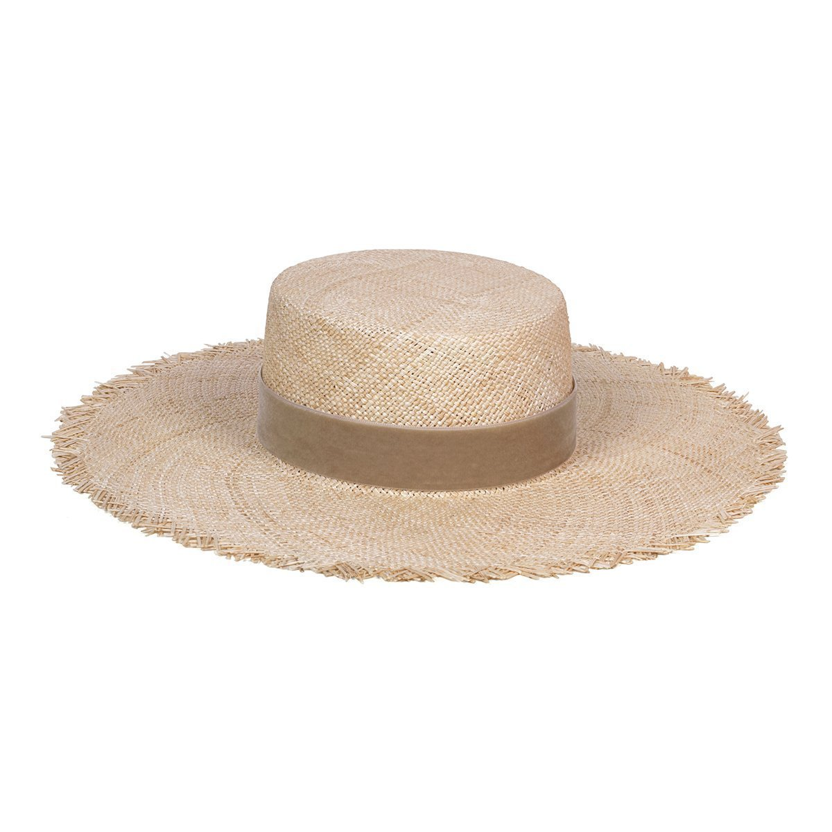 Load image into Gallery viewer, Lack of Color Aruba Fray Boater Straw Hat for Women