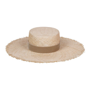 Lack of Color Aruba Fray Boater Straw Hat for Women