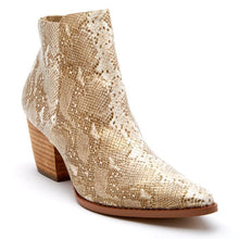 Load image into Gallery viewer,  Astoria Snakeskin Bootie by Matisse