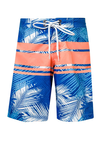 Tropical Neon Stripe True Boardie - Bohemian Mama