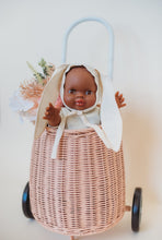 Load image into Gallery viewer, Dollie Bunny Bonnet - Shell | Bohemian Mama Littles - Dollie Clothing