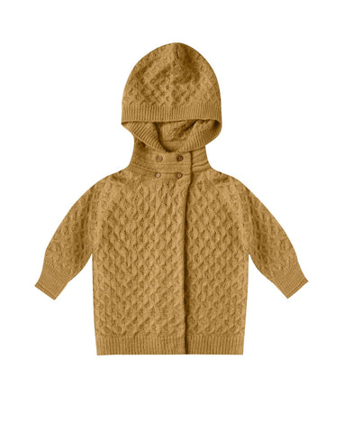 Baby Sweater Coat - Goldenrod