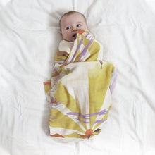 Load image into Gallery viewer, Bamboo + Organic Cotton Baby Swaddle Desert Dreaming