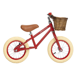 Banwood First Go! Scoot Bike, Red