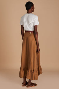 Sancia Basia Skirt in Cocoa | Skirts for Women