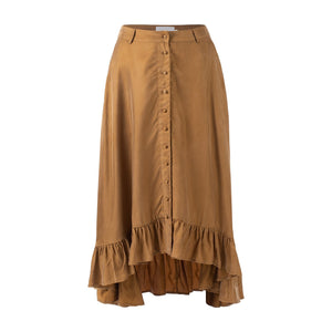Sancia Basia Skirt in Coco| Ruffle Skirts for Women