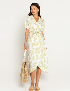 Beach Gold Bali Palm Wendy Skirt Pear | Women's Printed  Flared Skirts