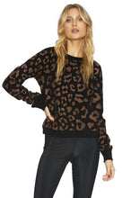 Load image into Gallery viewer, Beach Riot Reverse Leopard Sweatshirt