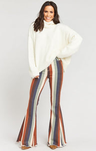 Show Me Your Mumu Berkeley Zip Up Bells Retro Stripe