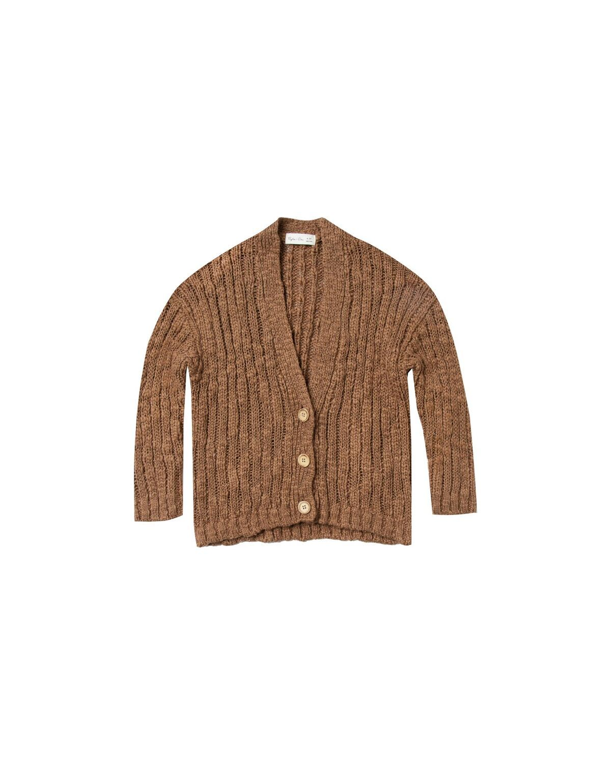 Birdy Cardigan in Caramel by Rylee & Cru