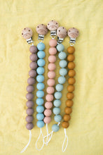 Load image into Gallery viewer, Bohemian Mama Littles Pacifier Clip - Burlwood