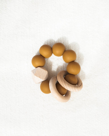 Bohemian Mama Littles Titan silicone teething toy - Buck