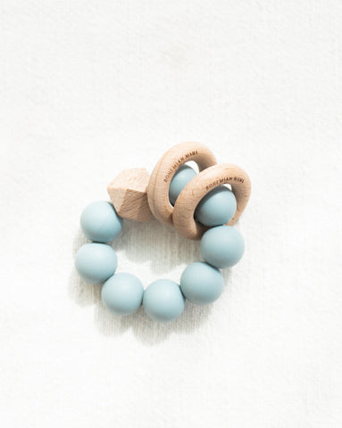 Bohemian Mama Littles Titan silicone teething toy - Ether