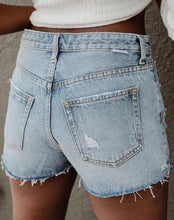 Load image into Gallery viewer, Denim Rigid High Rise Shorts The Cody by Boyish Jeans