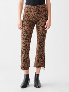 Bridget Crop High Rise Bootcut - Jaguar