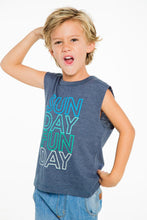 Load image into Gallery viewer, Sunday Funday Tank Top by Chaser Kids