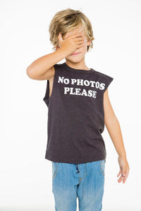 No Photos Tank Top by Chaser Kids