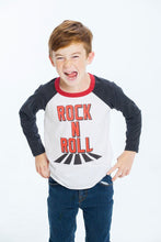 Load image into Gallery viewer, Rock Long Sleeve Raglan Tee by Chaser Kids