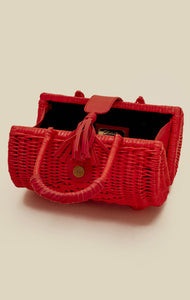 Clarissa Wicker Bag by Cleobella | Woven Bags