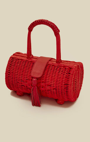 Clarissa Wicker Bag