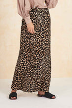 Load image into Gallery viewer, Colca Bias Maxi Skirt in Leopard by Tigerlily | Maxi Skirts
