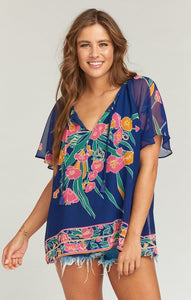 Cait Tassel Tunic in Bouquet Bundle by Show Me Your Mumu | Womens