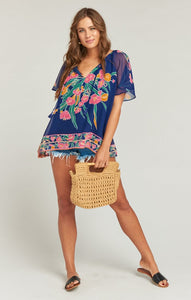 Cait Tassel Tunic in Bouquet Bundle by Show Me Your Mumu
