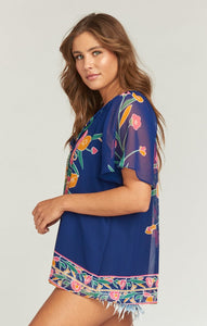 Cait Tassel Tunic in Bouquet Bundle by Show Me Your Mumu | Tunics