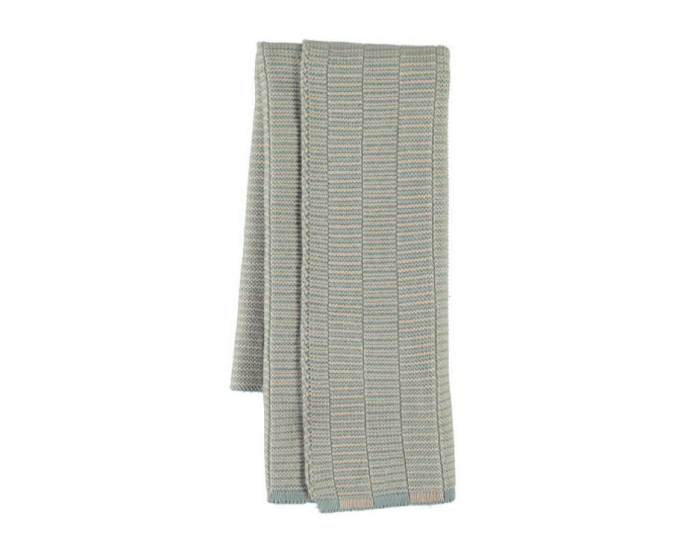 Stringa Mini Towel in Pale Blue / Camel