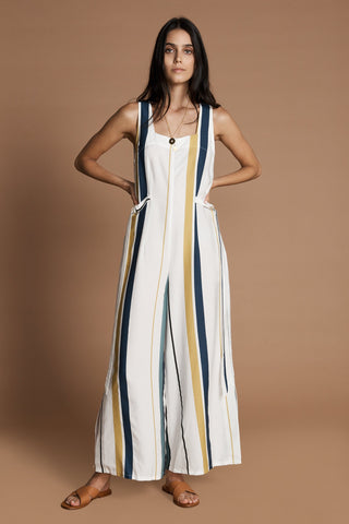 Cecilia Jumpsuit in Margot Stripe by Sancia