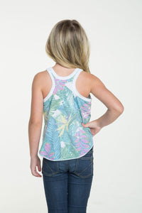 Tropical Vacation Tank | Chaser Kids Tank Tops
