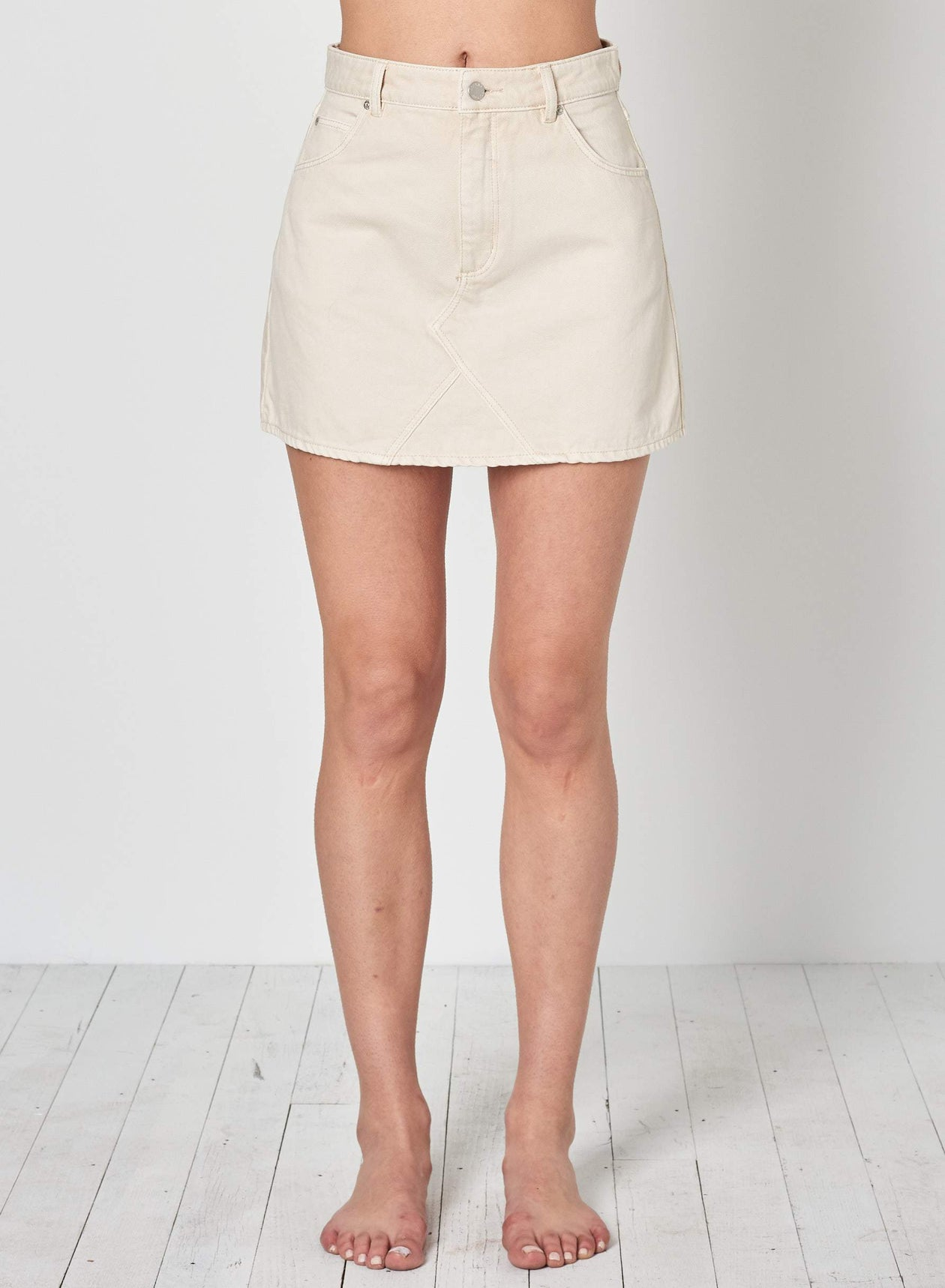 Claudia Skirt in Cream by Rolla's