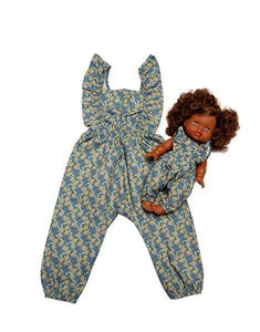 "Duo Collection - ""MAYA"" cotton jumpsuit Cassandra 