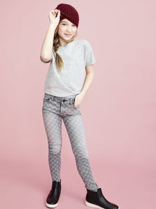 DL1961 Chloe Skinny Checkmate | Tweens