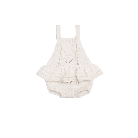 Ruby Ruffle Bodysuit Natural