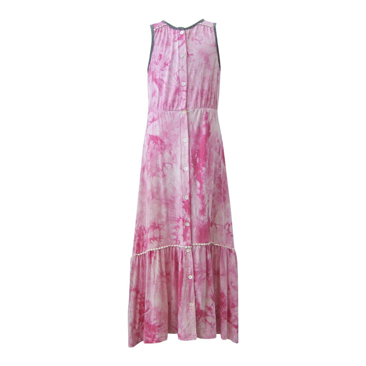 Helen Sleeveless Maxi Dress Hippie At Heart by Miki Miette