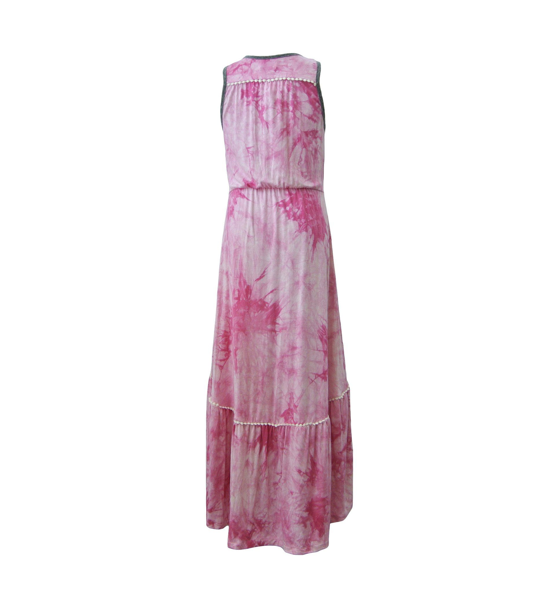 Helen Sleeveless Maxi Dress Hippie At Heart
