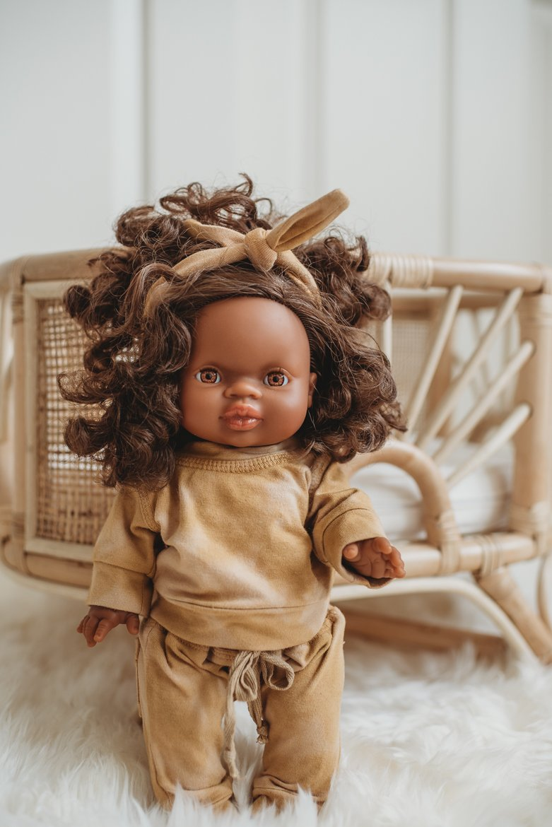 Load image into Gallery viewer, Dollie Crew + Harem - Sunset | Bohemian Mama Littles - Kids' Toys - Doll Clothing
