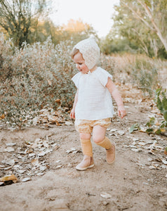Consciously Baby Leather Toddler Boots | Sustainable