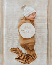 Load image into Gallery viewer, Oatmeal Ribbed Beanie | Brixton Phoenix - Newborn Clothing & Accessories