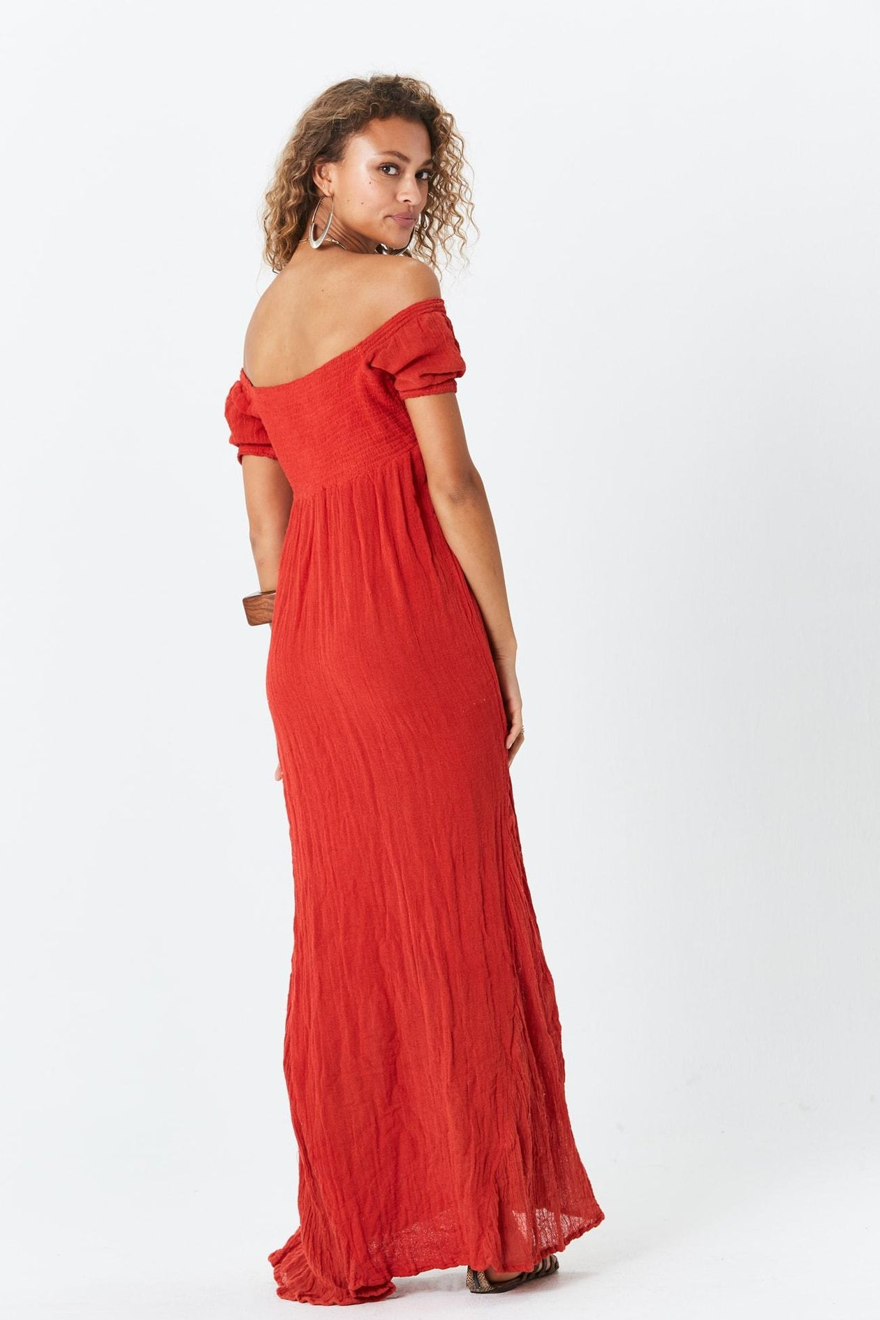 D'Amico Dress in Persimmon by Jen's Pirate Booty | Womens Maxi Dresses