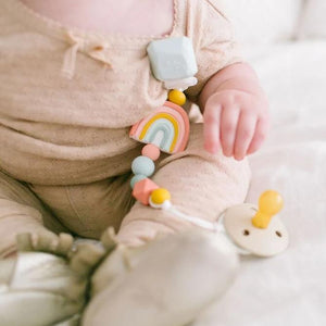 Darling Pacifier Clip - Rainbow