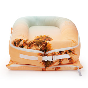 Deluxe+ Cover - Desert Palm | DockATot Baby Accessories Lounger Cover