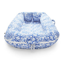 Load image into Gallery viewer, Grand Cover - Villa Azure | DockATot Baby Accessories Lounger