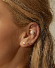 Load image into Gallery viewer, Diamonte Studs Set in Silver by Luv Aj
