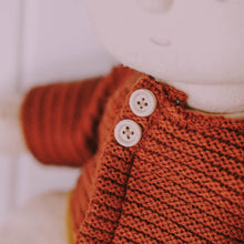 Load image into Gallery viewer, Olli Ella Dinkum Doll Cardigan Chestnut