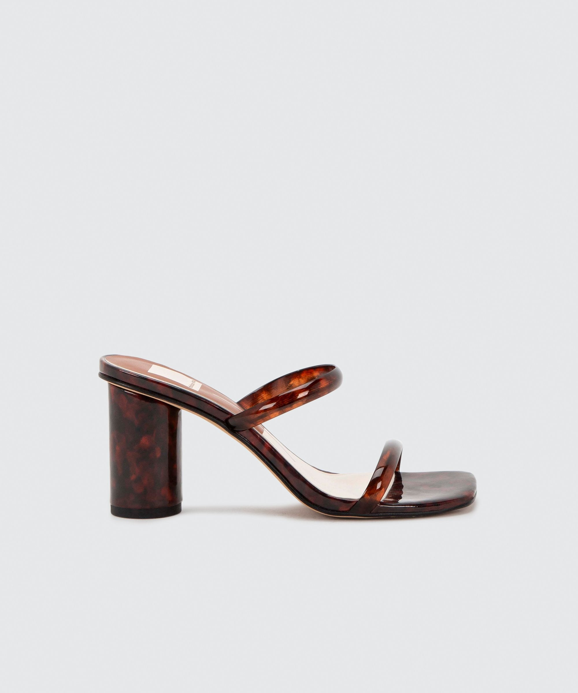 Load image into Gallery viewer, Dolce Vita Noles Heels Tortoise | Heeled Sandals