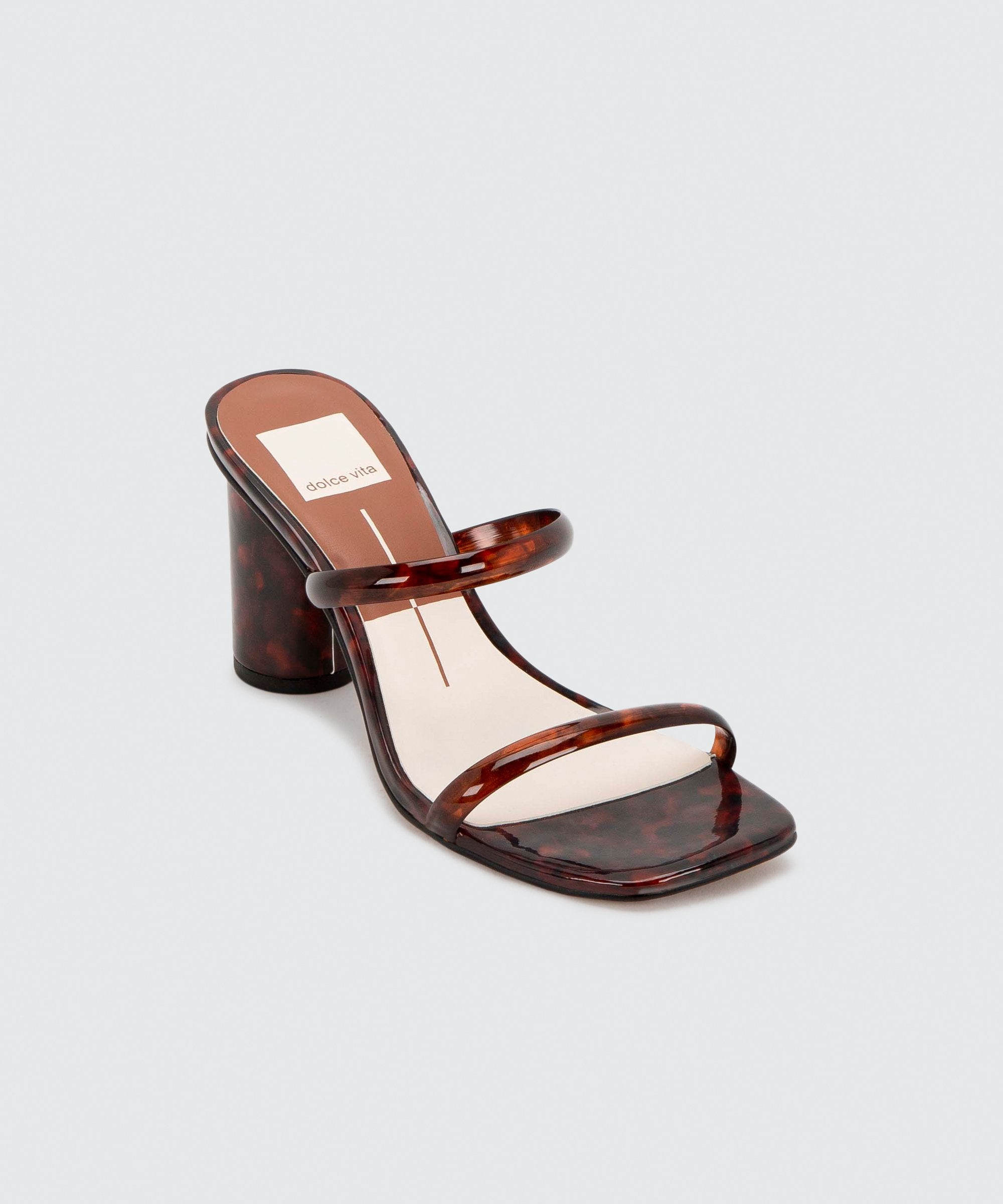 Load image into Gallery viewer, Dolce Vita Noles Heels Tortoise | Shoes